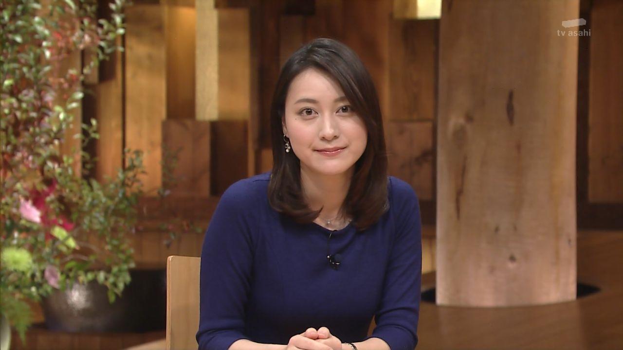 【朗報】報ステ小川彩佳ちゃん、今日もおっぱいがエロいW.w.w.