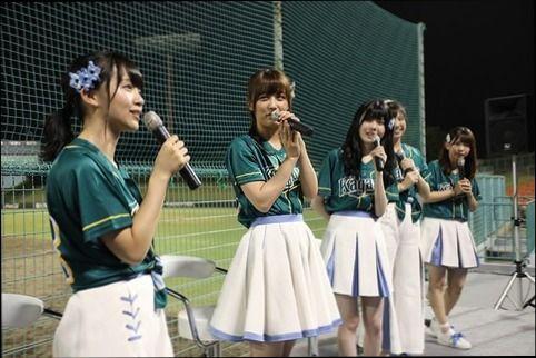 【悲報】香川ガイナーズ社長「SKE48を始球式に呼んだのにオタクが試合を観ずに帰った」