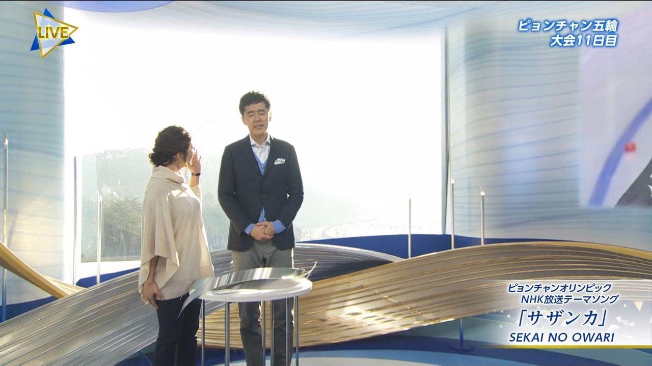 杉浦友紀アナ、スケスケ衣装で体のラインが丸見えwwww